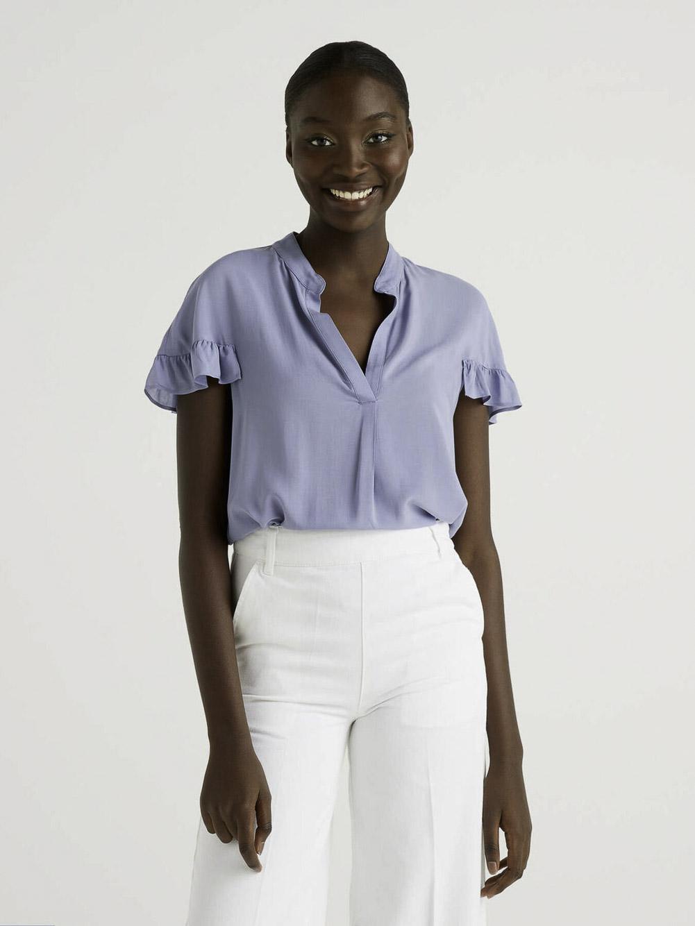 BENETTON Μπλούζα t-shirt 5SF05QCN3 21P0C0