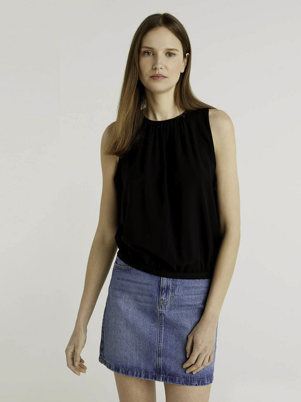 BENETTON BLUSA A 5JWG5QCY3 21P100