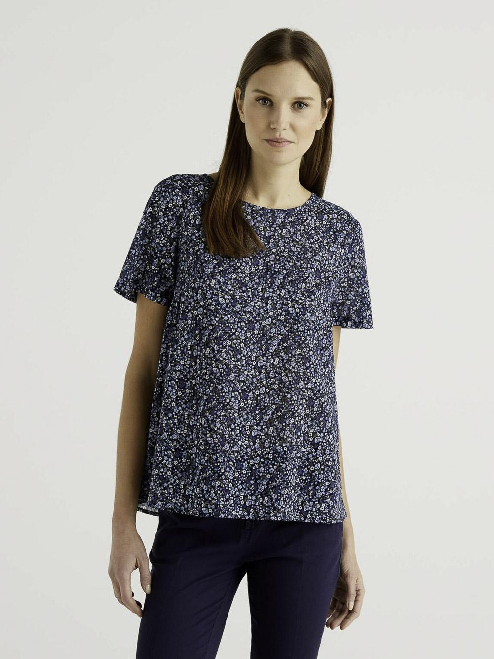 BENETTON Μπλούζα t-shirt 5OA95QBA4 21P66F