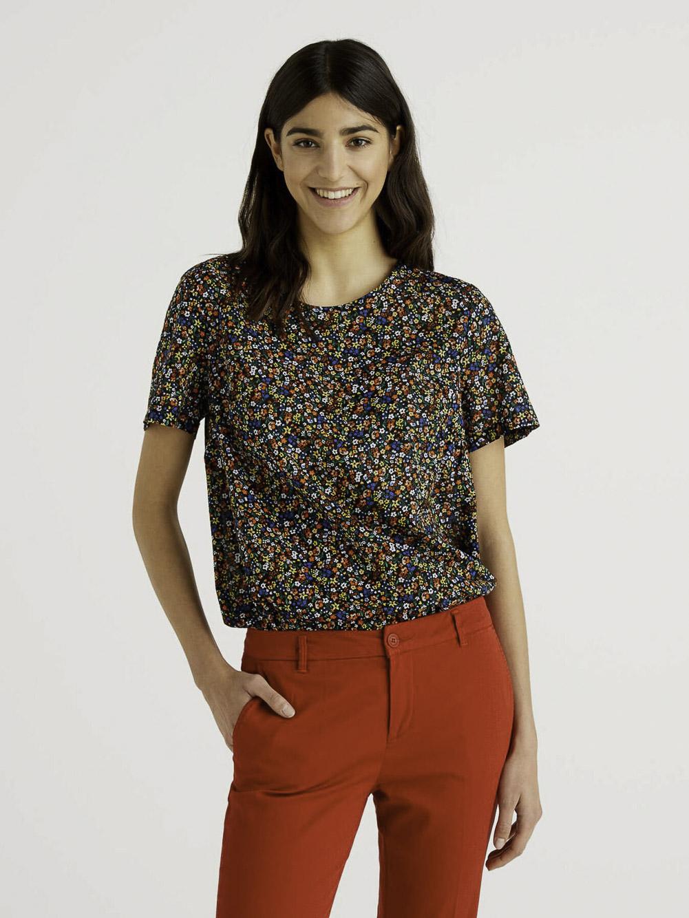 BENETTON Μπλούζα t-shirt 5OA95QBA4 21P66G
