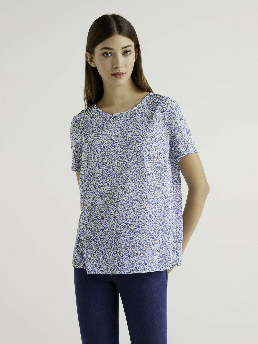 BENETTON Μπλούζα t-shirt 5OA95QBA4 21P66L