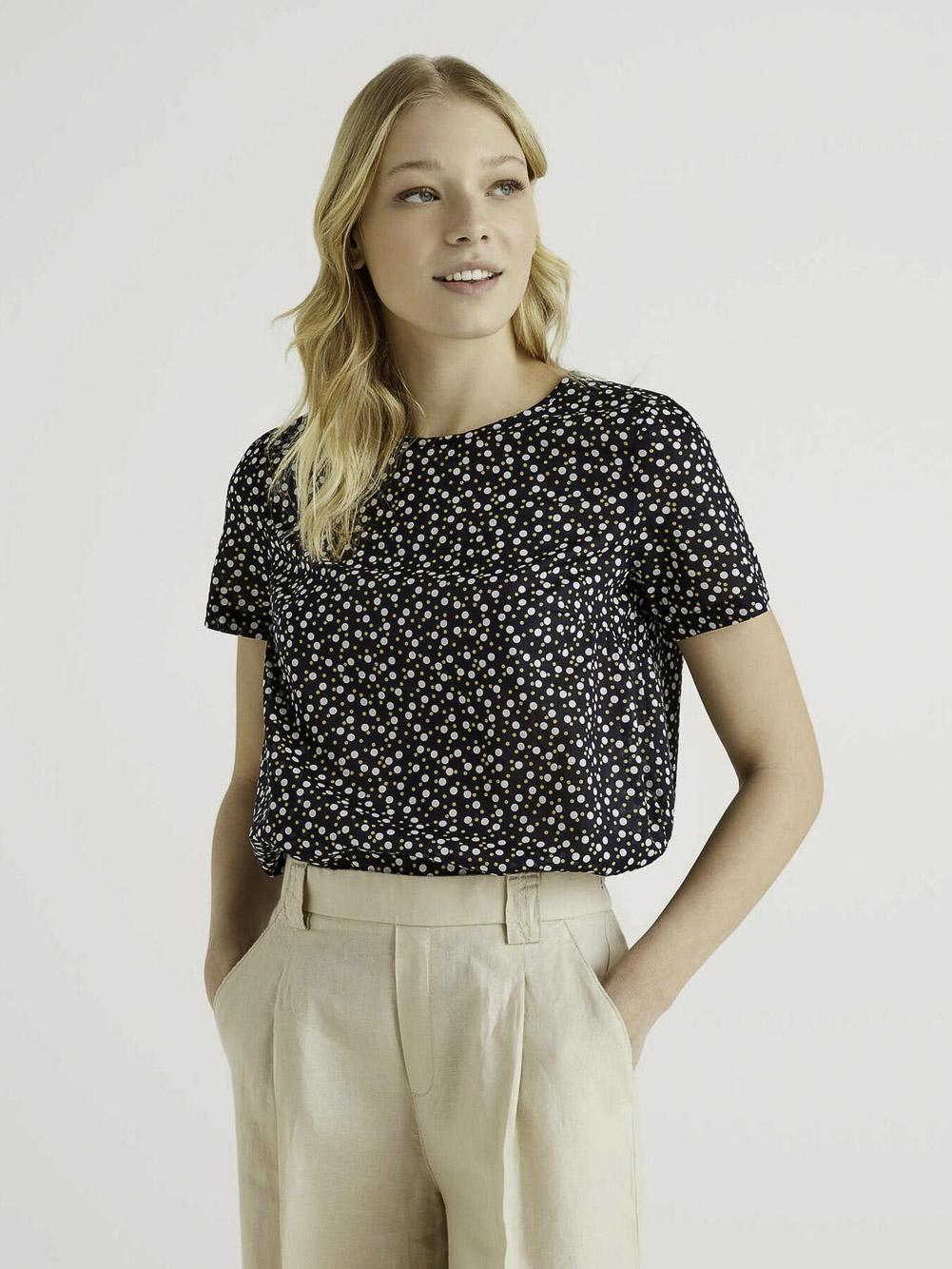 BENETTON Μπλούζα t-shirt 5OA95QBA4 21P75C