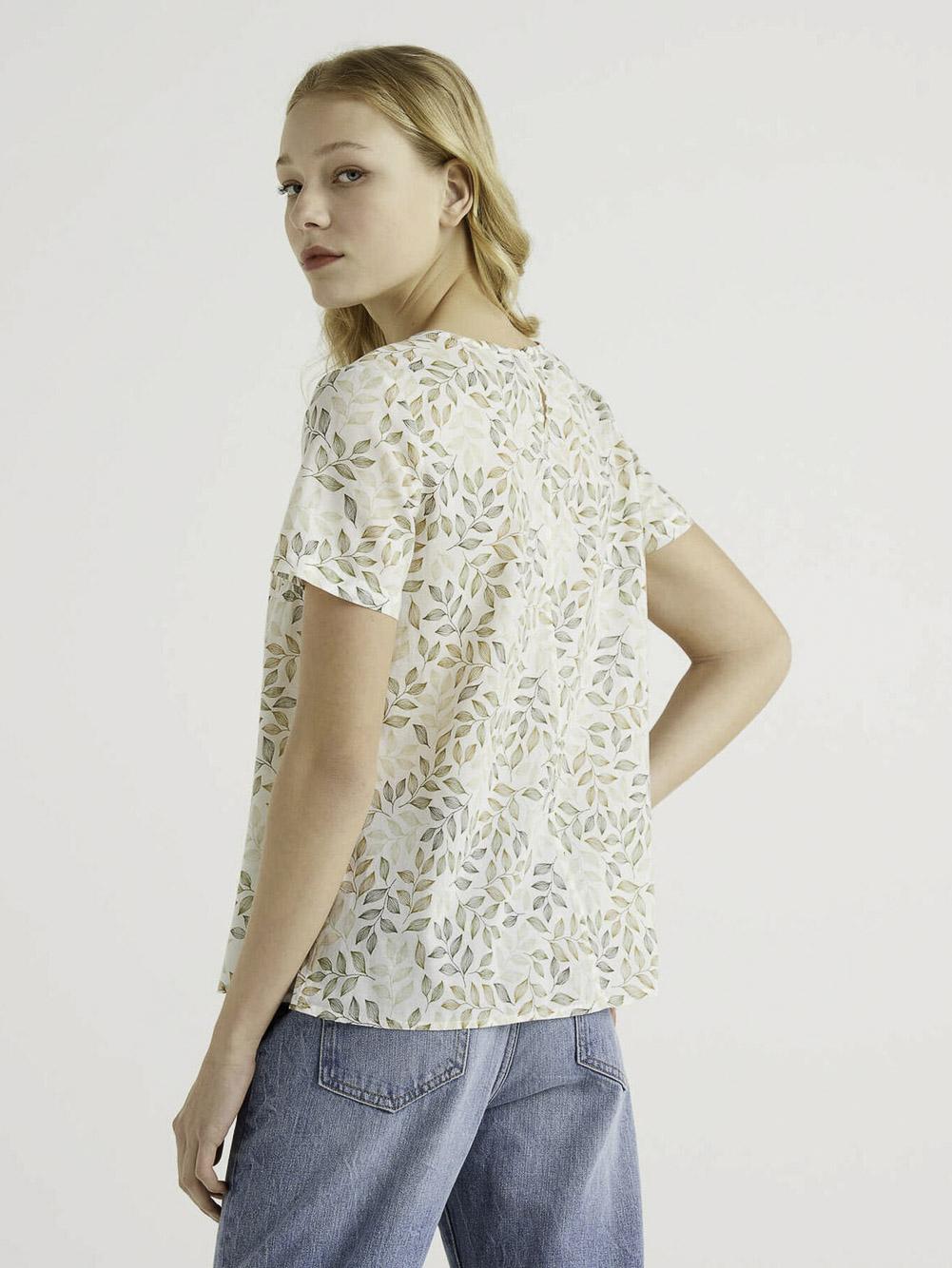 BENETTON Μπλούζα t-shirt 5OA95QBA4 21P75F