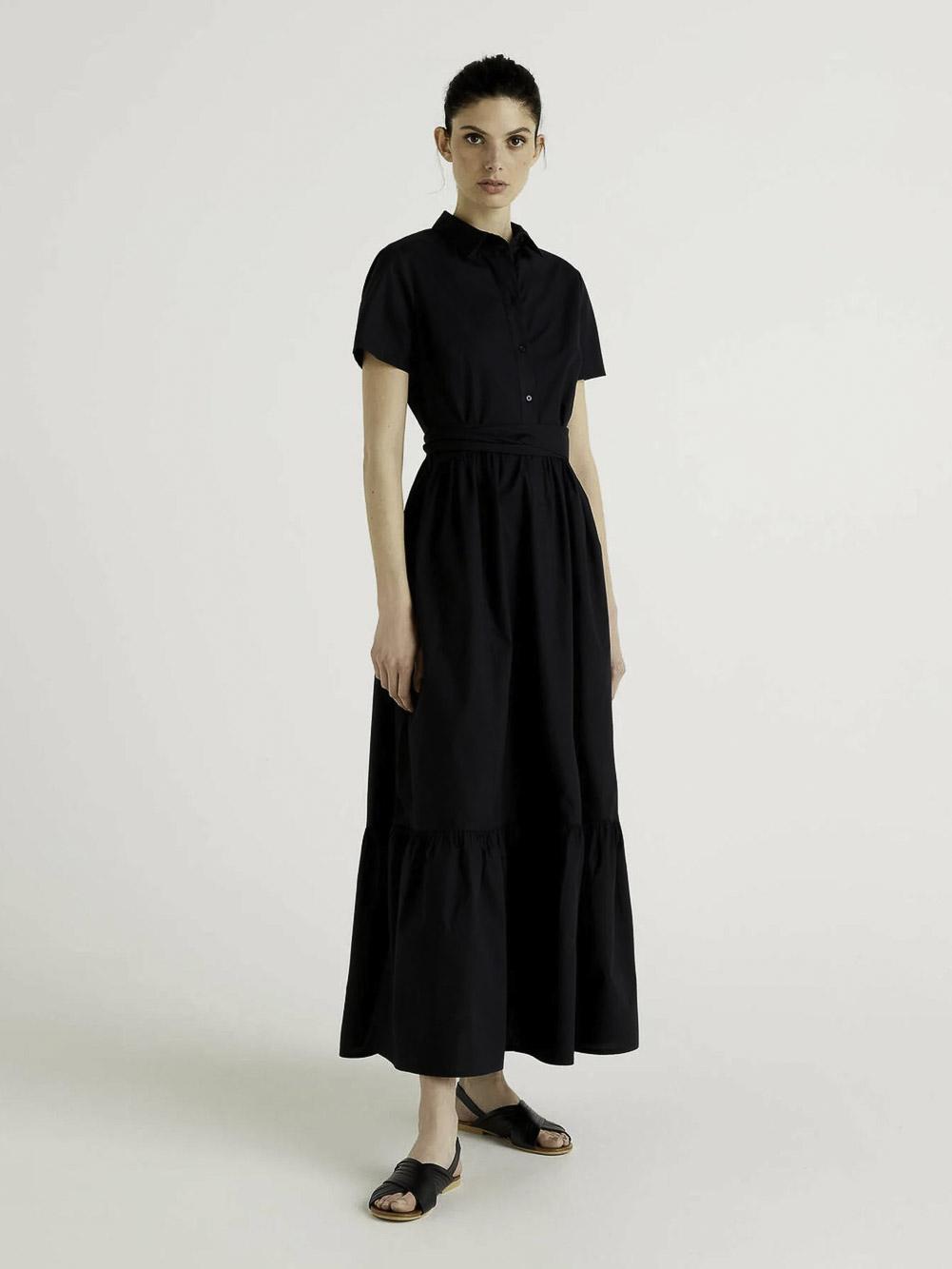BENETTON Φόρεμα maxi 4EW75VCJ4 21P100