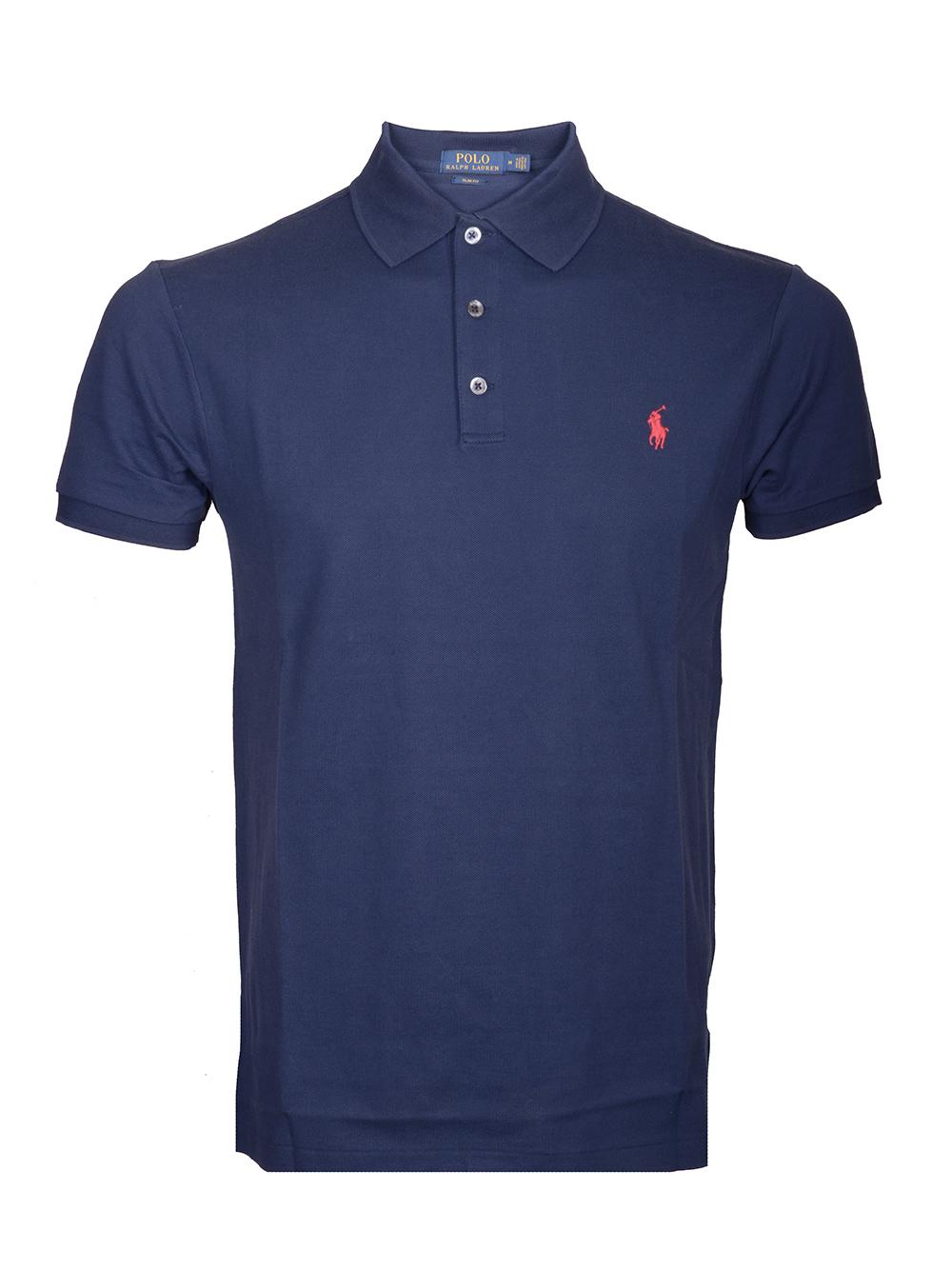 POLO RALPH LAUREN Μπλούζα Polo 710541705009 ΜΠΛΕ