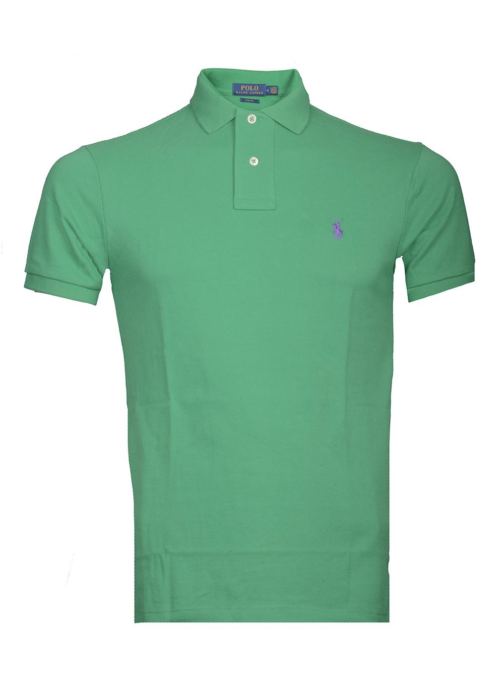 POLO RALPH LAUREN Μπλούζα Polo 710536856137 ΠΡΑΣΙΝΟ