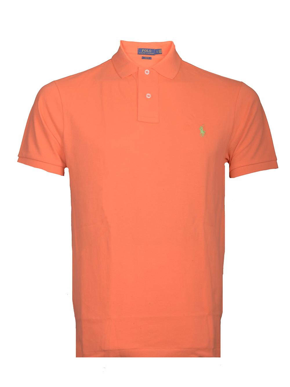 POLO RALPH LAUREN Μπλούζα Polo 710536856133 ΠΟΡΤΟΚΑΛΙ