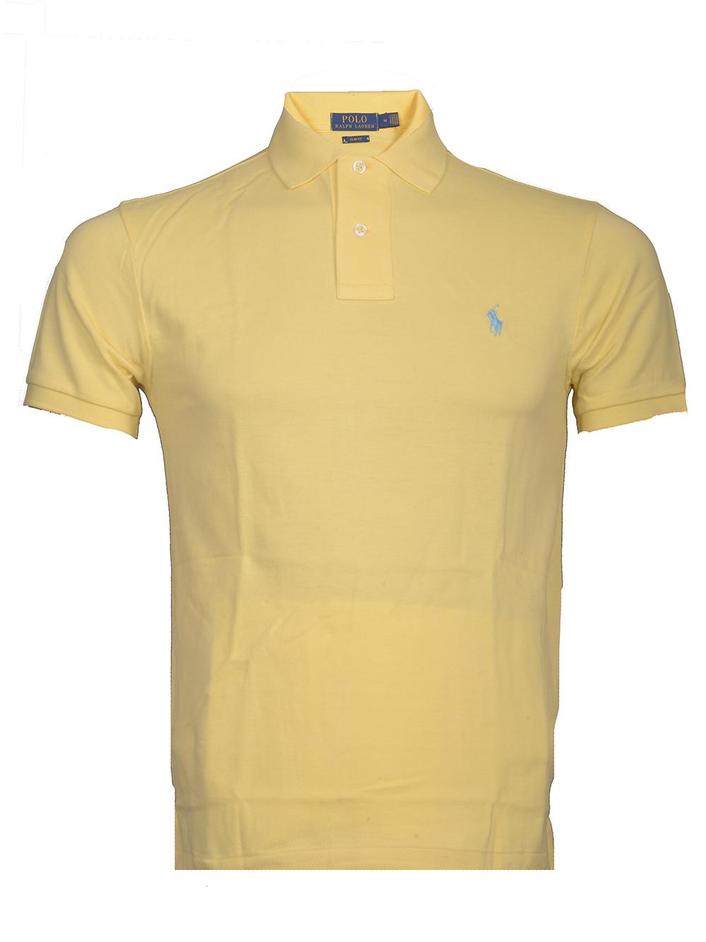 POLO RALPH LAUREN Μπλούζα Polo 710536856132 ΚΙΤΡΙΝΟ