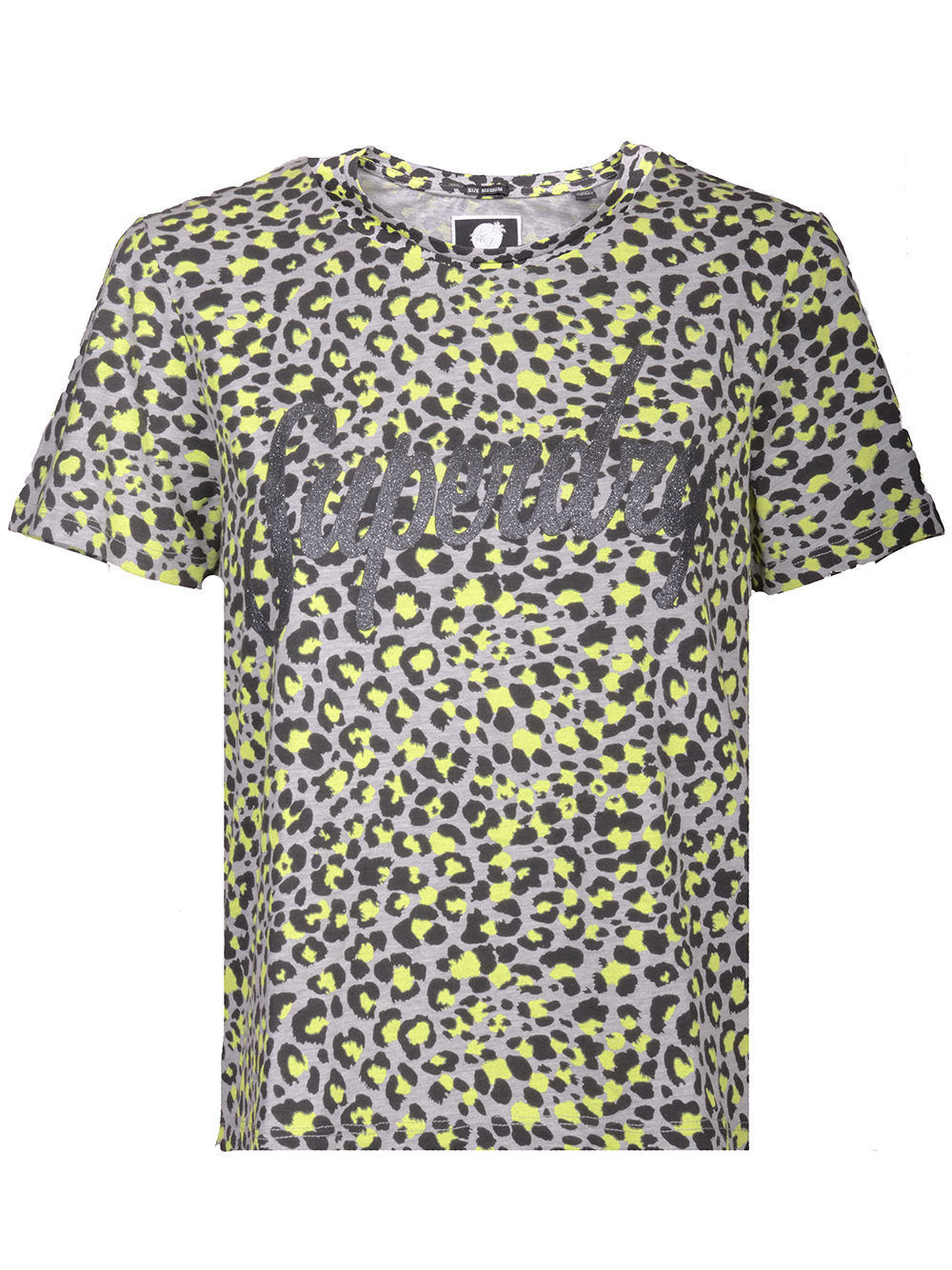 SUPERDRY Μπλούζα T-shirt κοντό μανίκι G60005XQ ΓΚΡΙ
