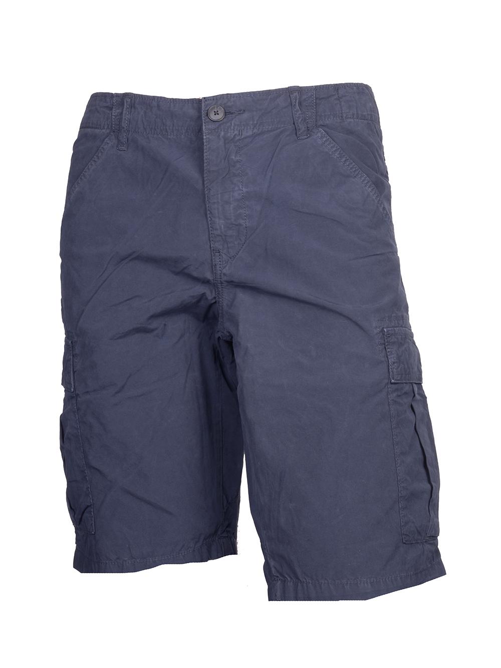 BOSS ORANGE Βερμούδα cargo Shorts d 82625 ΜΠΛΕ