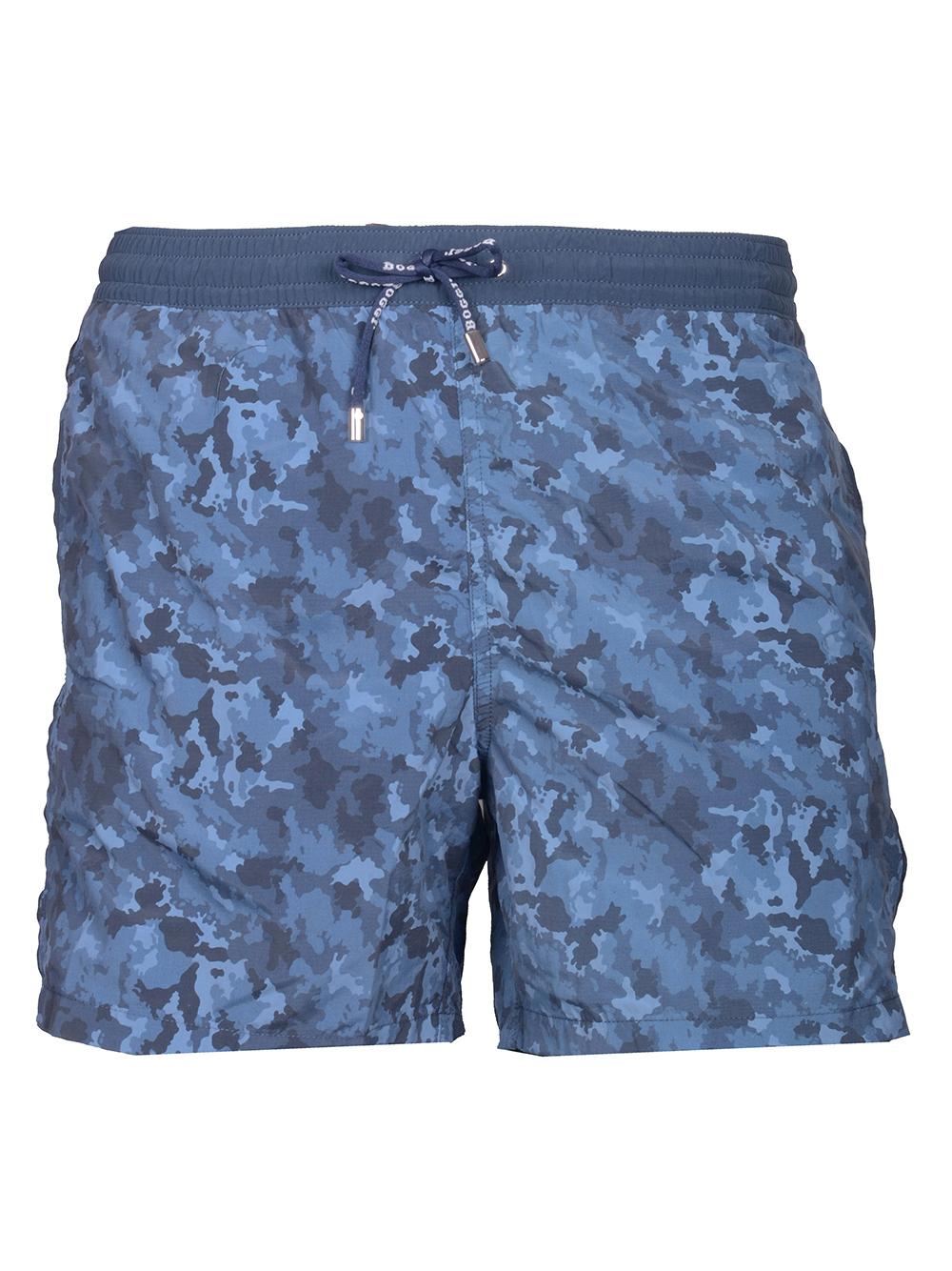 BOGGI Μαγιό shorts B018P092401 ΜΠΛΕ