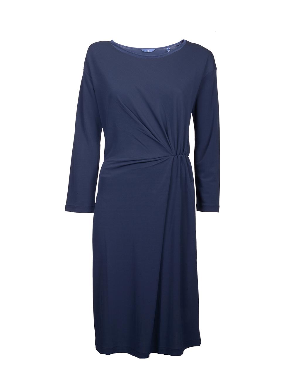 GANT Φόρεμα μακρύ μανίκι 3GW4204316 ΜΠΛΕ