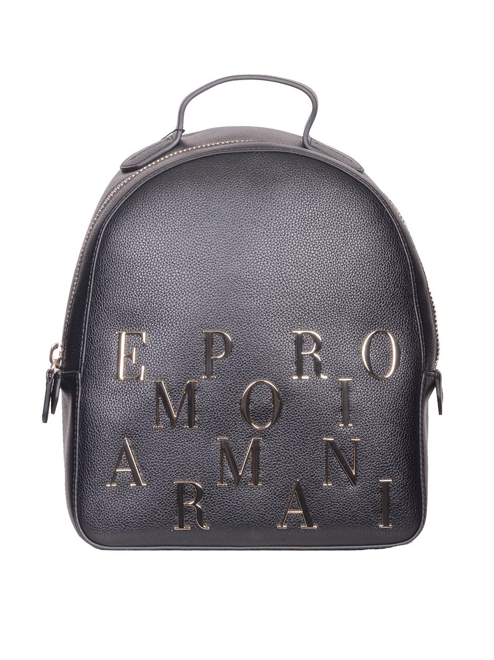 c0117e9fbb EMPORIO ARMANI Τσάντα backbag Y3L020 YH59A ΜΑΥΡΟ