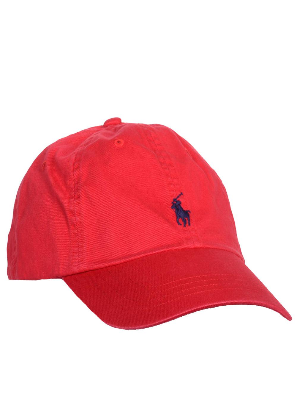 POLO RALPH LAUREN Καπέλο jockey 710548524002 ΚΟΚΚΙΝΟ
