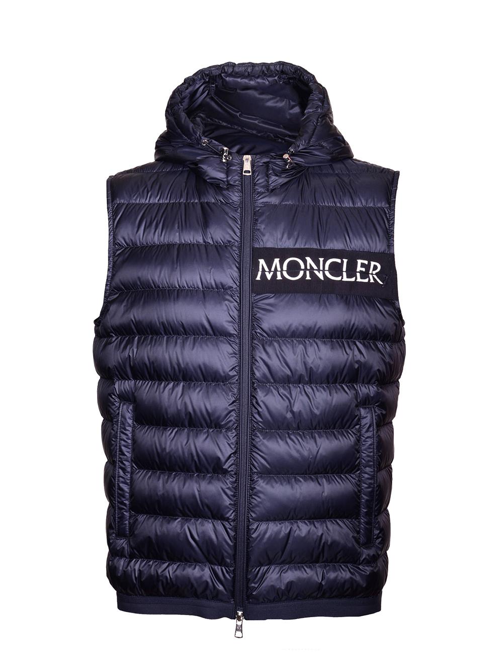MONCLER Μπουφάν αμάνικο E1-091-4334494 ΜΠΛΕ