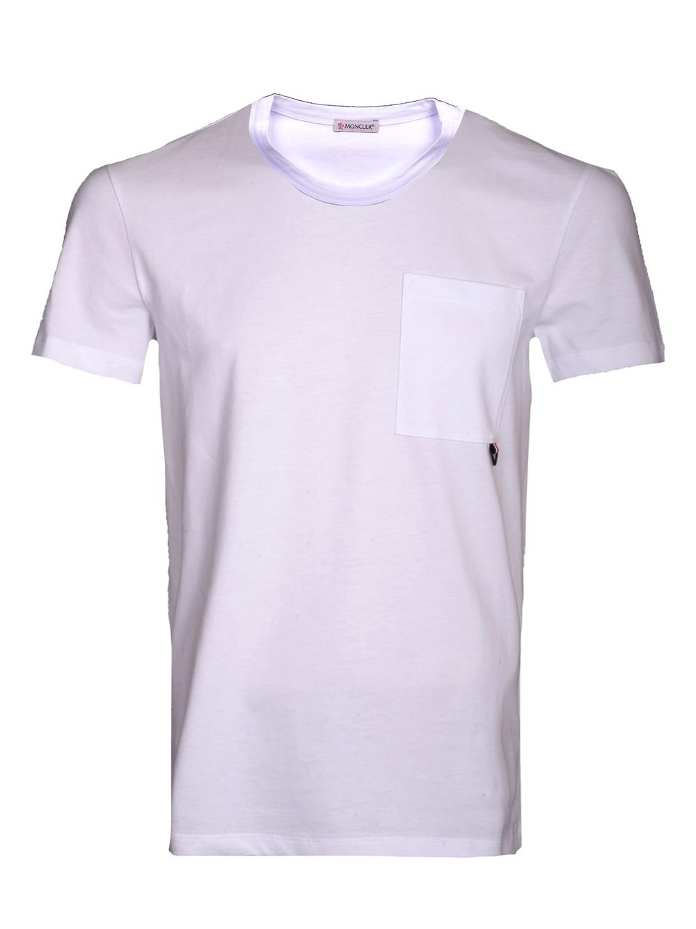 MONCLER Μπλούζα T-Shirt E1-091-8040250 ΛΕΥΚΟ