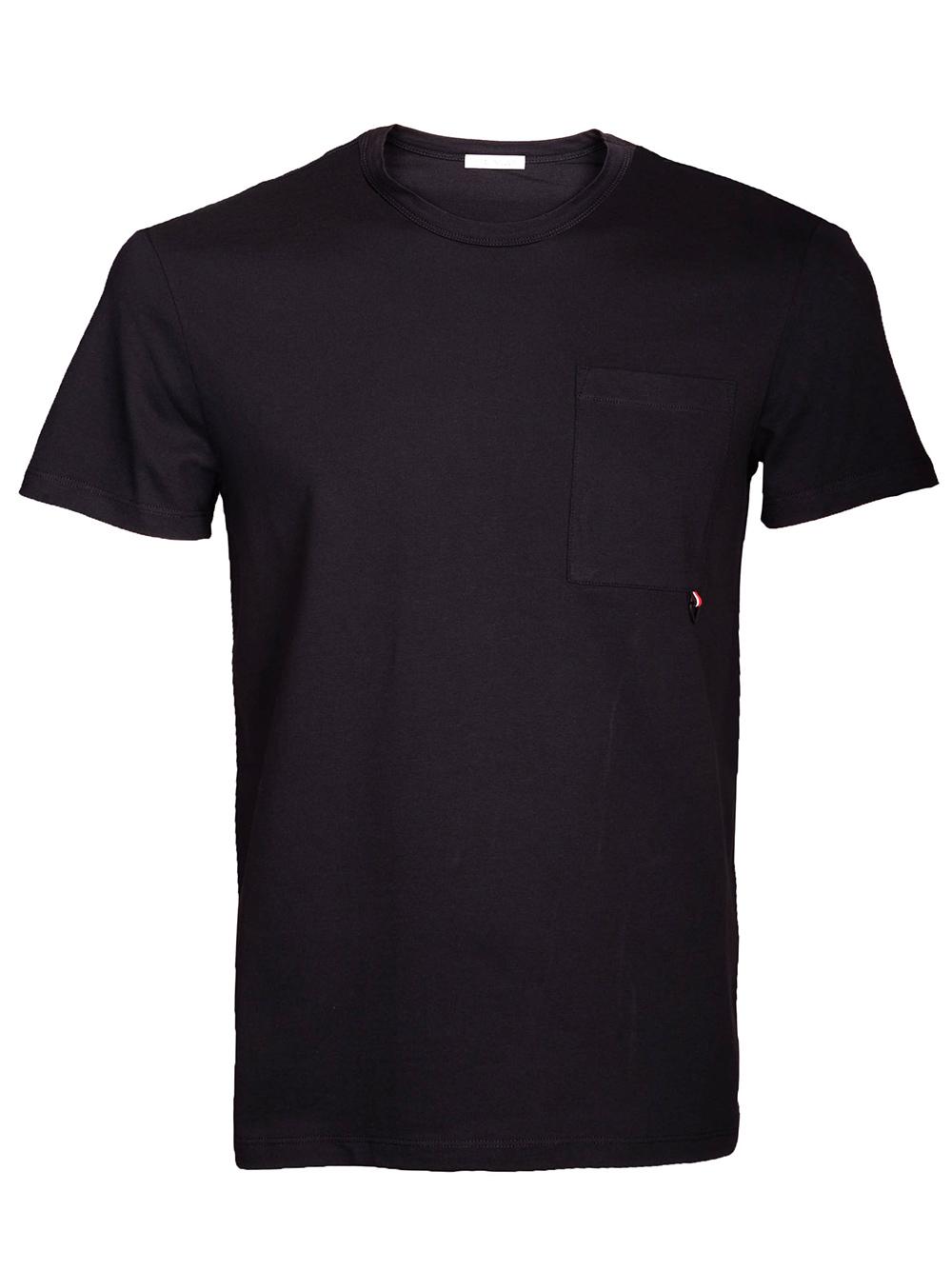 MONCLER Μπλούζα T-Shirt E1-091-8040250 ΜΑΥΡΟ