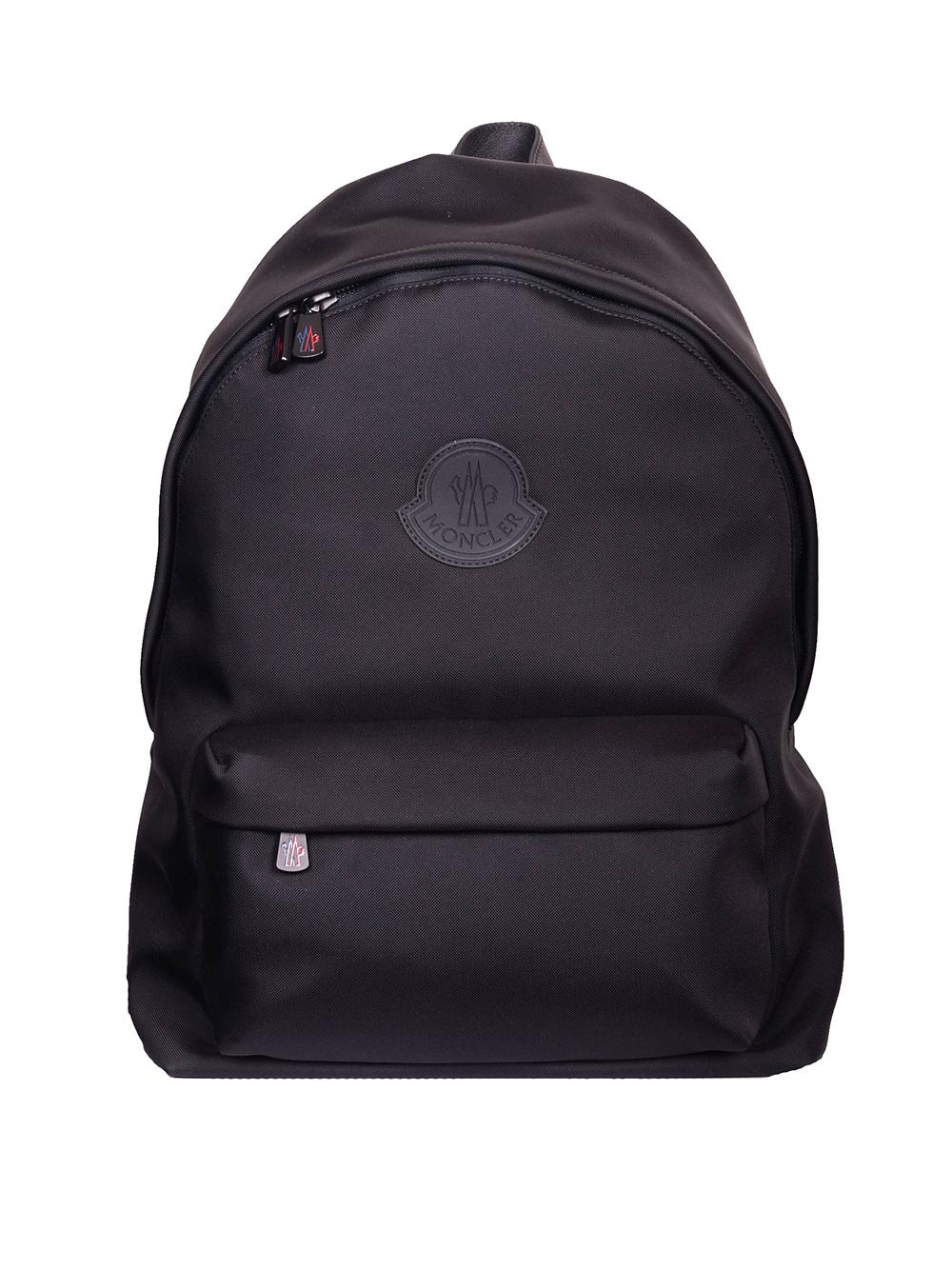 MONCLER Τσάντα ανδρική backpack E1-09A-0063600 ΜΑΥΡΟ
