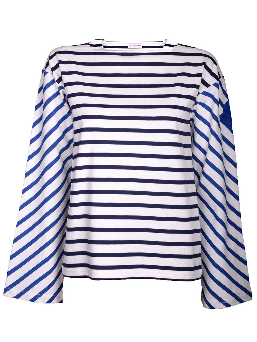 MONCLER Μπλούζα T-Shirt E1-093-8067100 ΡΙΓΕ