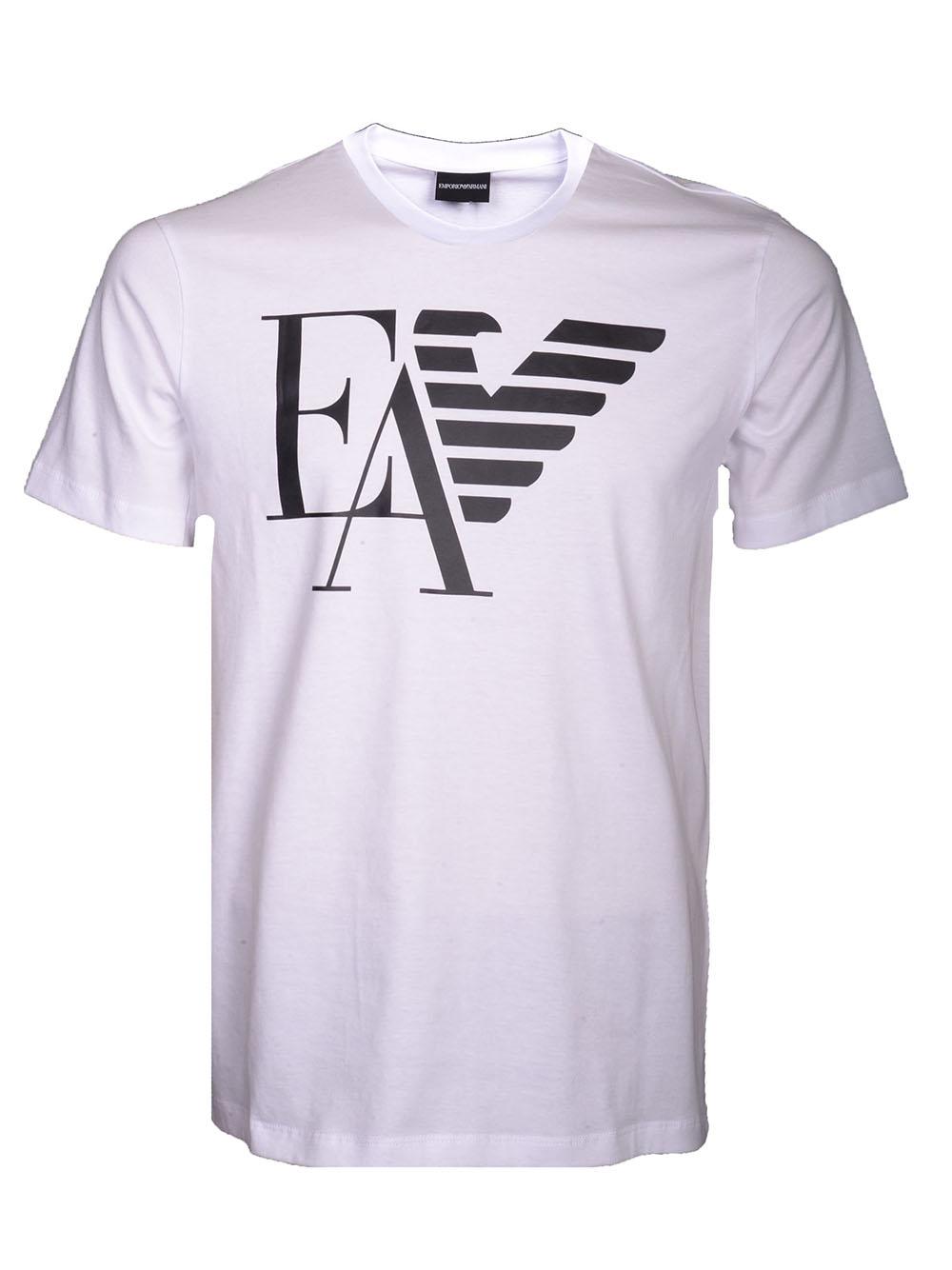 ac1f9a967622 EMPORIO ARMANI Μπλούζα T-Shirt 3G1TA9 1J00Z ΛΕΥΚΟ