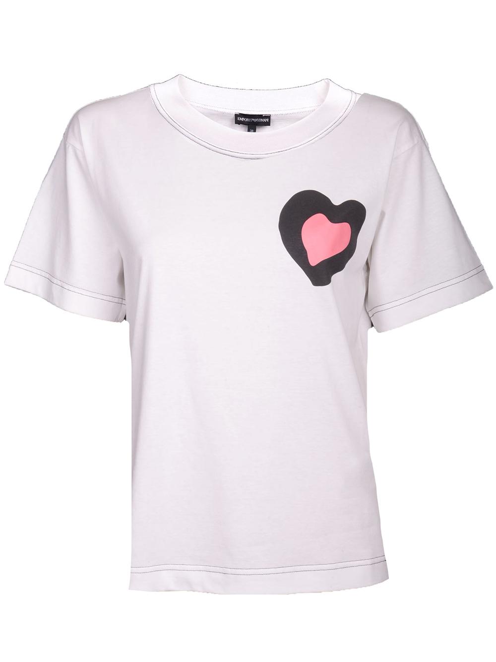 EMPORIO ARMANI Μπλούζα T-Shirt 3G2T72 2J28Z ΕΚΡΟΥ