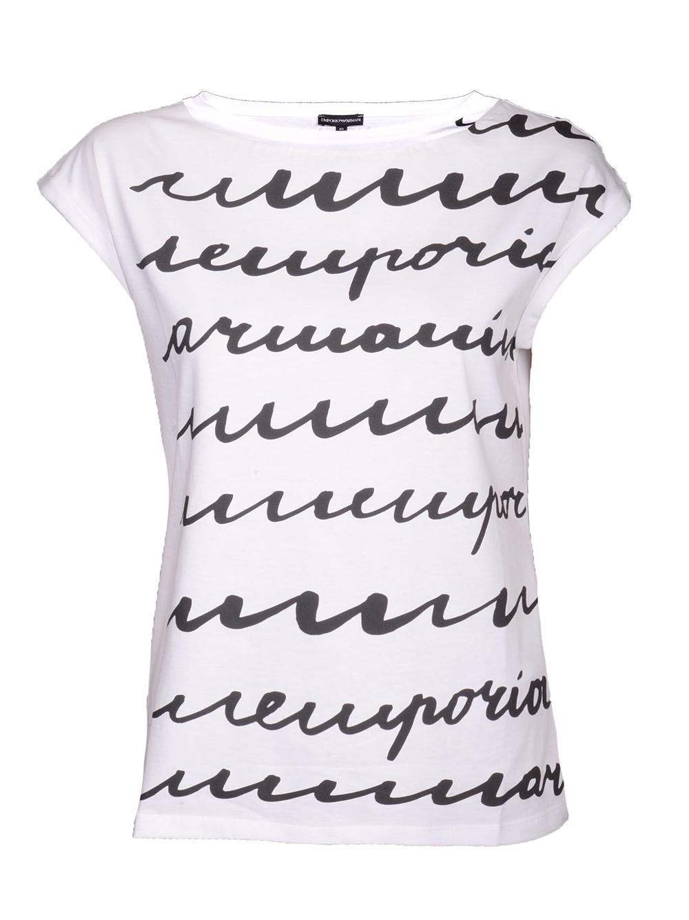 EMPORIO ARMANI Μπλούζα T-Shirt 3G2T65 2J29Z ΛΕΥΚΟ