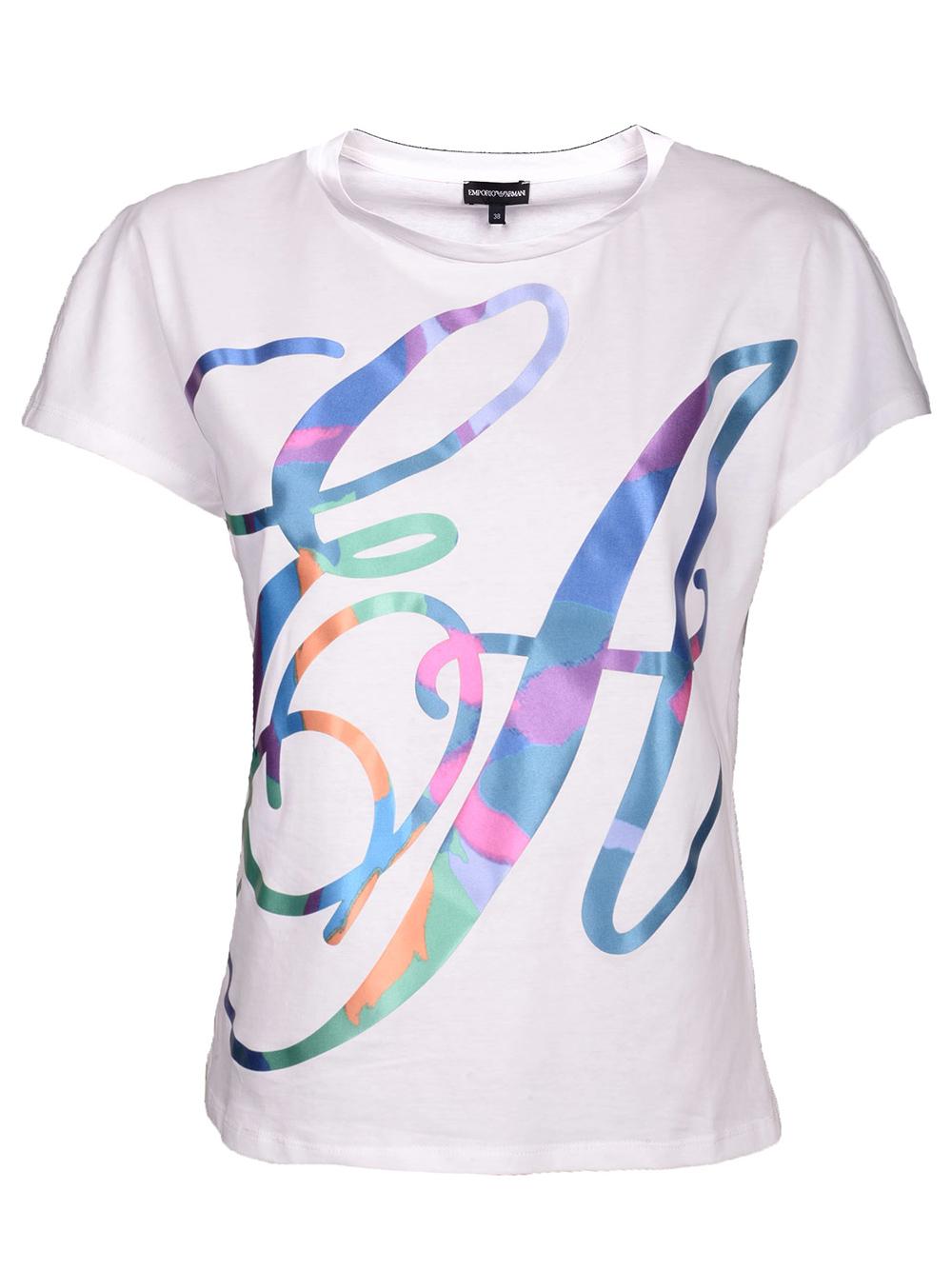 EMPORIO ARMANI Μπλούζα T-Shirt 3G2T64 2J28Z ΕΚΡΟΥ