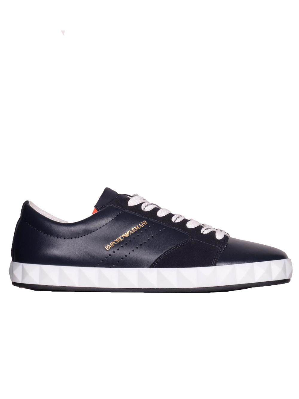 b3d5ff691a -10% Maroudas EMPORIO ARMANI Παπούτσια Sneakers X4Y254 YL694 ΜΠΛΕ
