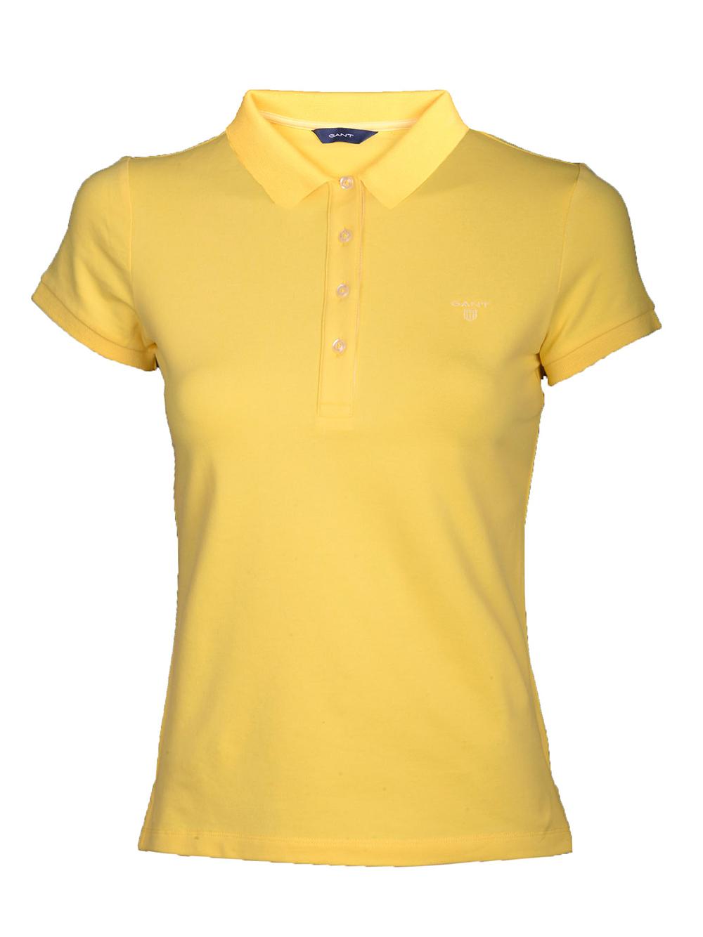 GANT Μπλούζα Polo 3GW401250 ΚΙΤΡΙΝΟ