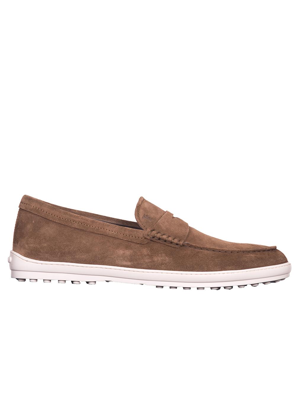 TOD'S Παπούτσια μοκασίνι XXM05B00640RE0S818 ΚΑΦΕ
