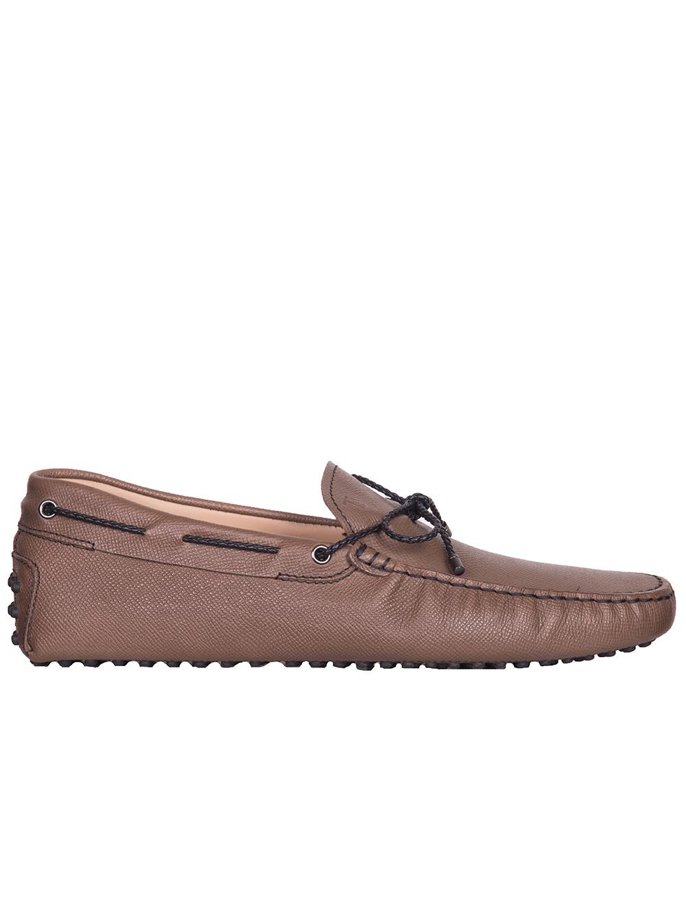 TOD'S Παπούτσια μοκασίνι XXM0GW05473PLTS818 ΚΑΦΕ
