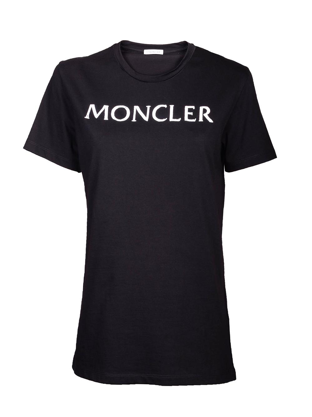 MONCLER Μπλούζα T-Shirt E1-093-8051250 ΜΑΥΡΟ