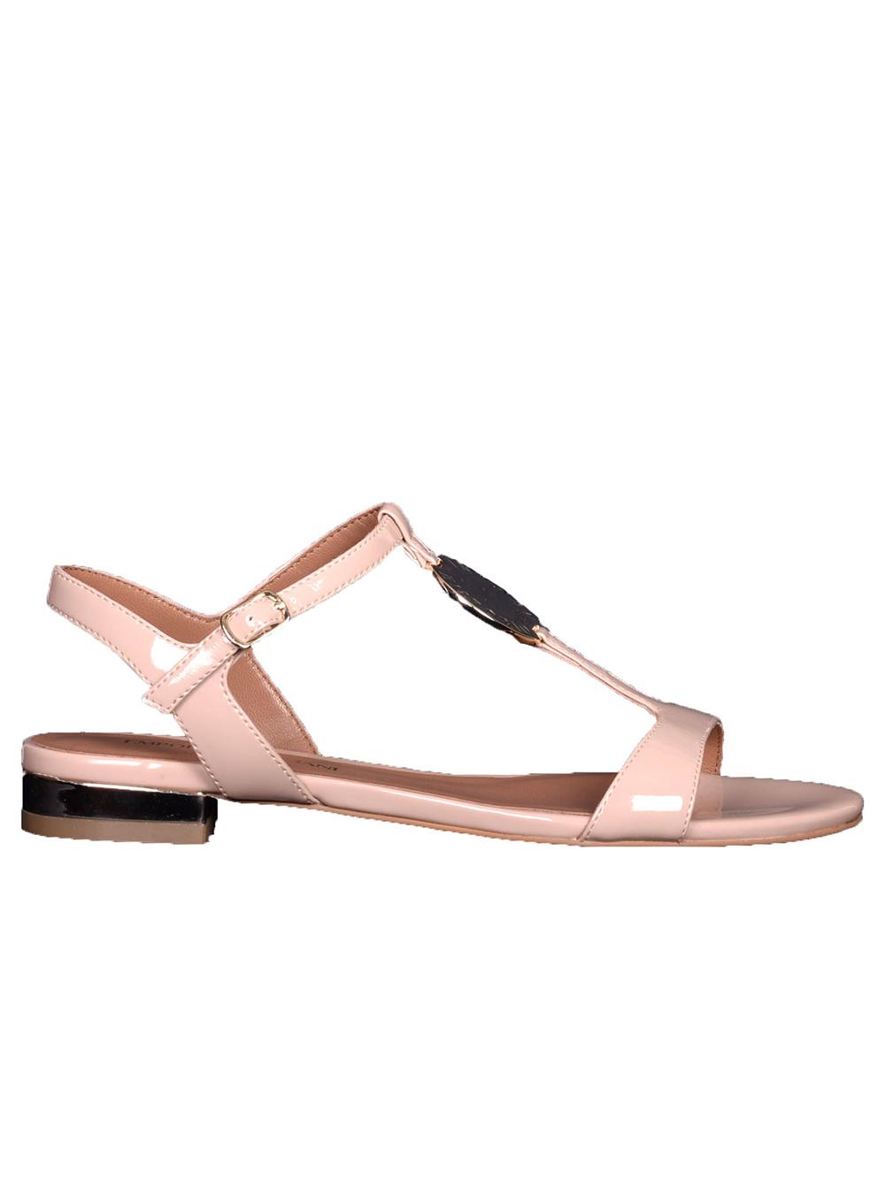 EMPORIO ARMANI Παπούτσια σανδάλια X3P640 XL846 ΜΠΕΖ