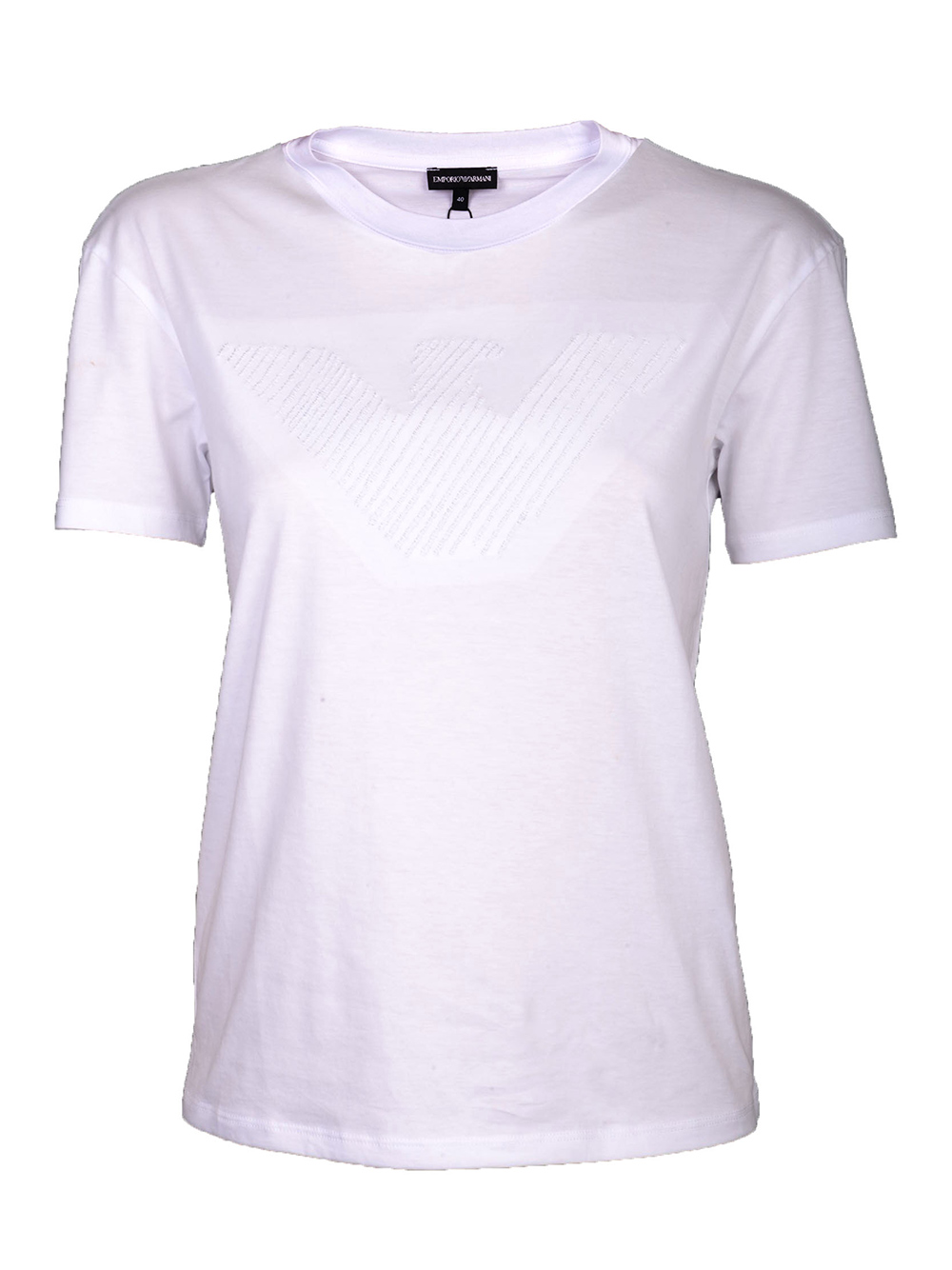 EMPORIO ARMANI Μπλούζα Τ-shirt 3G2T88 2JSYZ ΛΕΥΚΟ