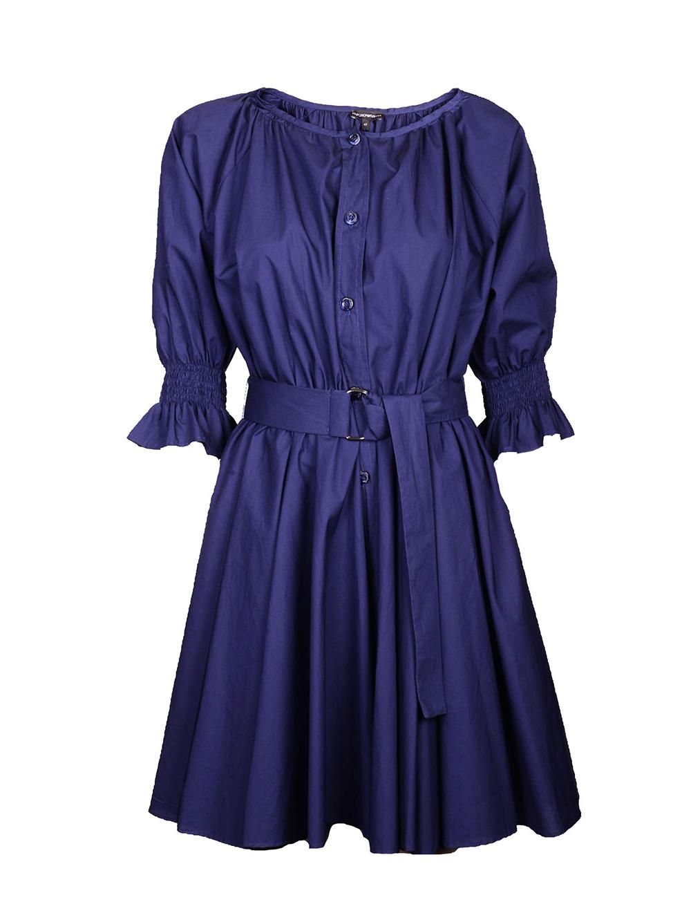 EMPORIO ARMANI Φόρεμα midi 3G2A77 2N0FZ ΜΠΛΕ
