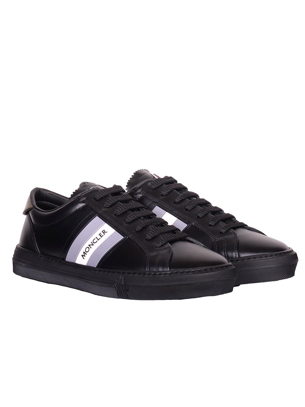 MONCLER Παπούτσια Sneakers E2-09A-1037600-999 ΜΑΥΡΟ