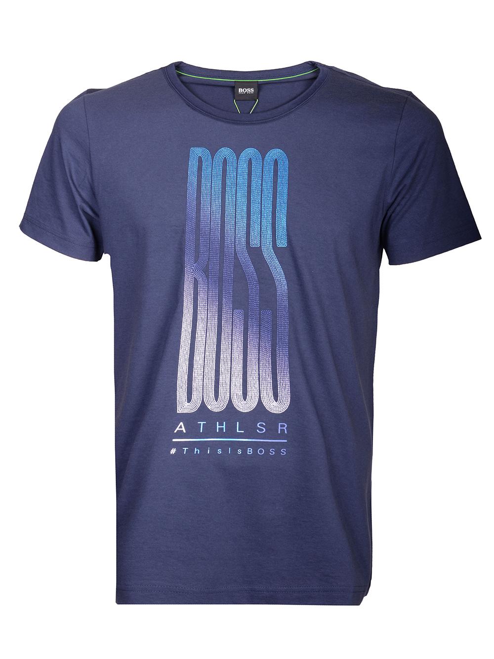BOSS GREEN Μπλούζα Τ-shirt 50413796-402 ΜΠΛΕ
