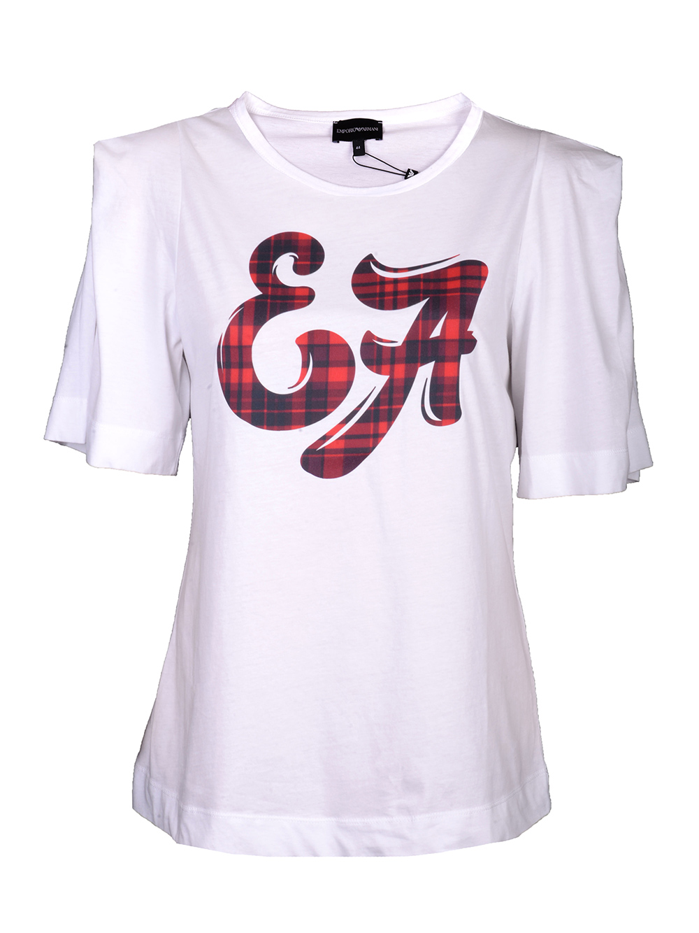 EMPORIO ARMANI Μπλούζα T-shirt 6G2T7Y 2J50Z ΛΕΥΚΟ