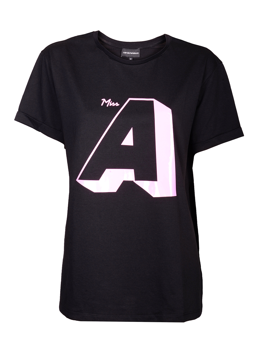 EMPORIO ARMANI Μπλούζα T-shirt 6G2T7R 2J4CZ ΜΑΥΡΟ