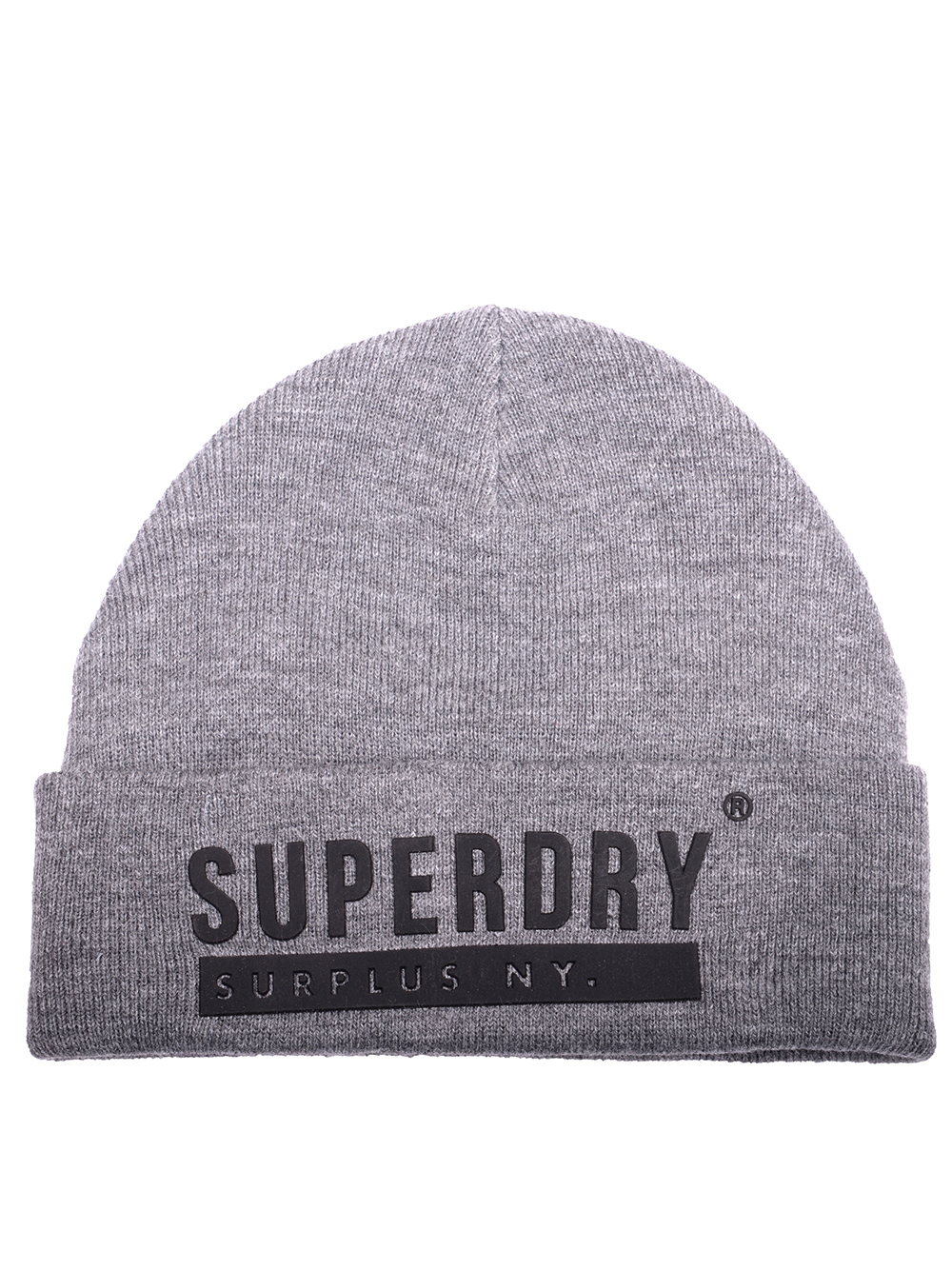 SUPERDRY Σκούφος ανδρικός M9000016A ΓΚΡΙ