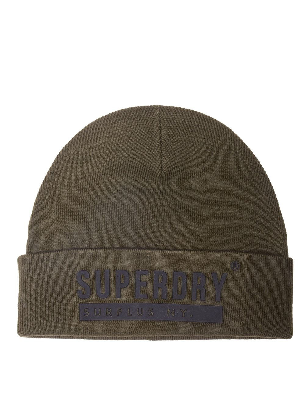 SUPERDRY Σκούφος ανδρικός M9000016A-03O ΛΑΔΙ