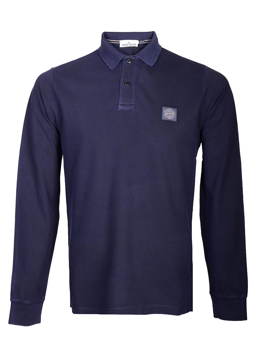 STONE ISLAND Μπλούζα Polo 71152SS67 ΜΠΛΕ