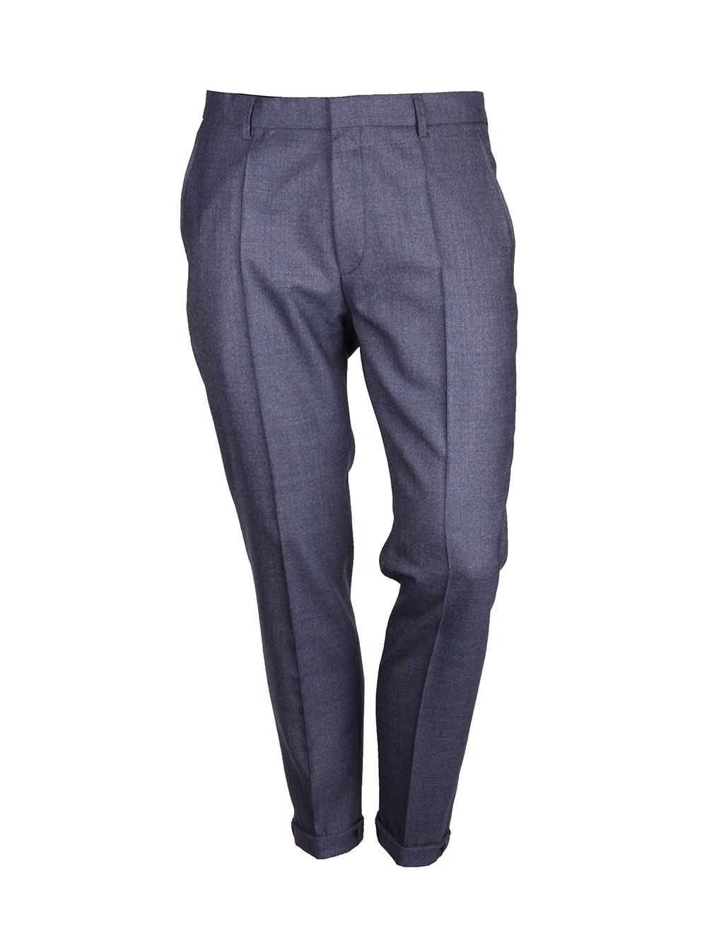 HUGO Παντελόνι άπιετο HENDRIS 17399-402 ΜΠΛΕ