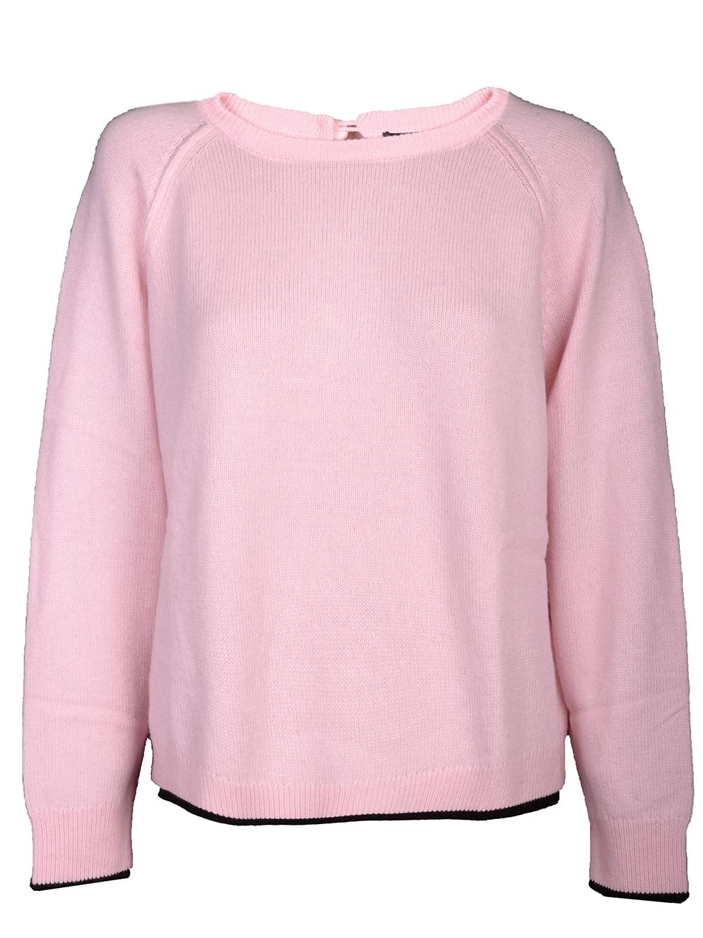 EMPORIO ARMANI Μπλούζα πουλόβερ 6G2MUA 2M39Z ΡΟΖ