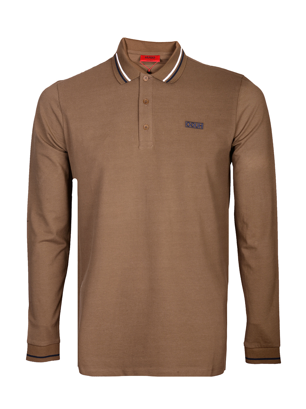 HUGO Μπλούζα Polo 50414189-303 ΛΑΔΙ