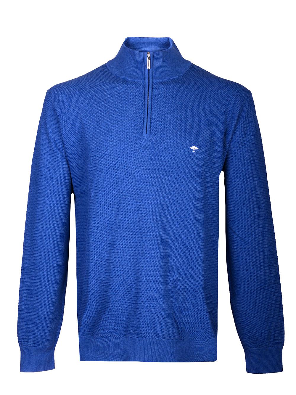 FYNCH-HATTON Μπλούζα zip-neck 1219 206-655 ΡΑΦ
