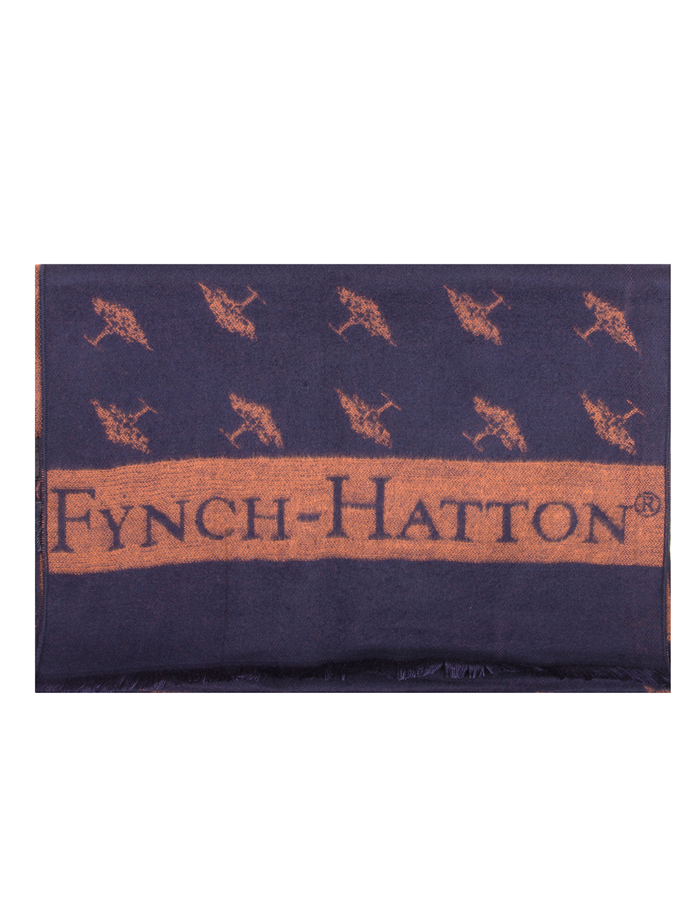 FYNCH-HATTON Κασκόλ ανδρικό 1219 0102-1602 ΜΠΛΕ