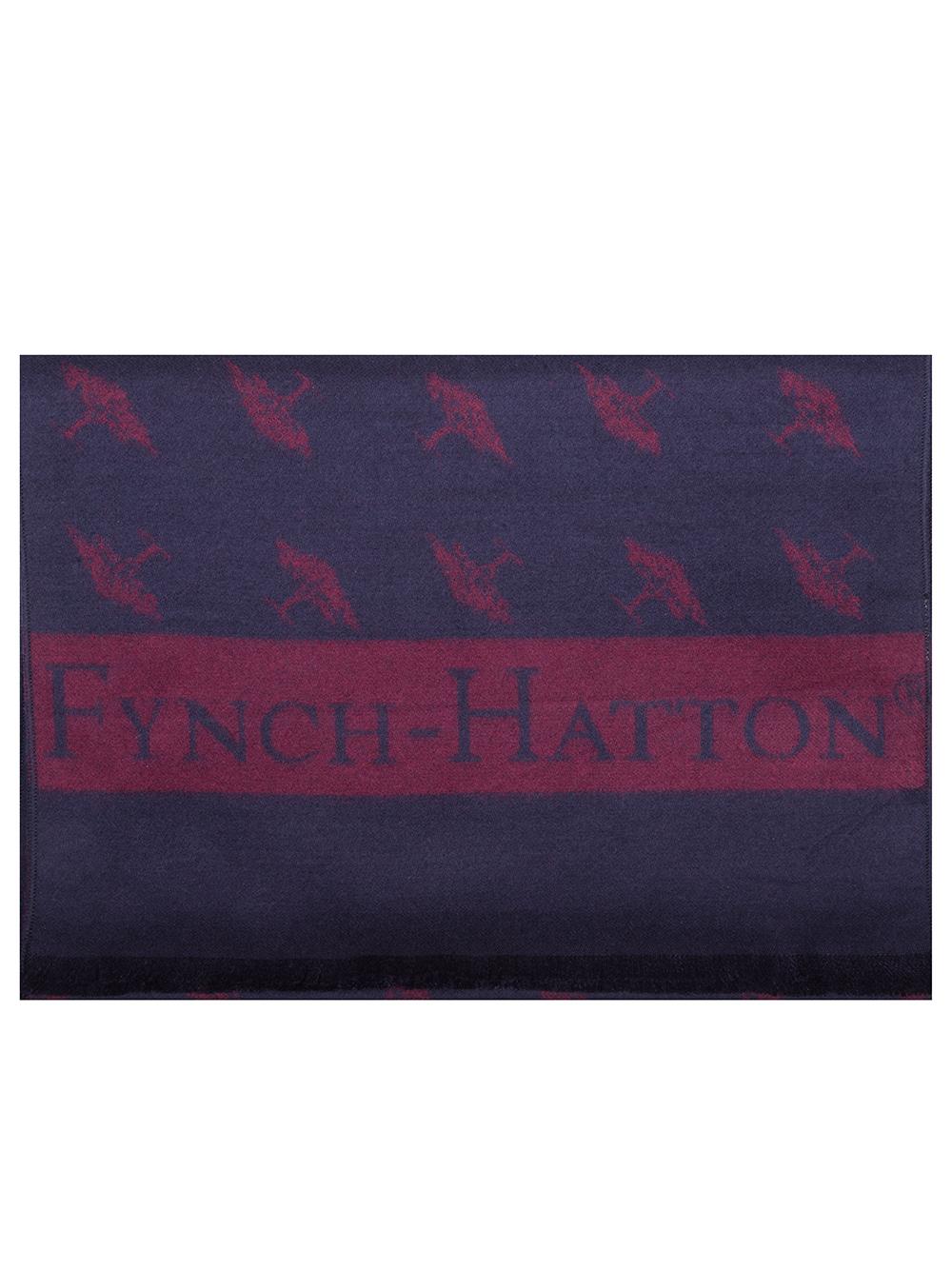 FYNCH-HATTON Κασκόλ ανδρικό 1219 0102-1601 ΜΠΟΡΝΤΩ