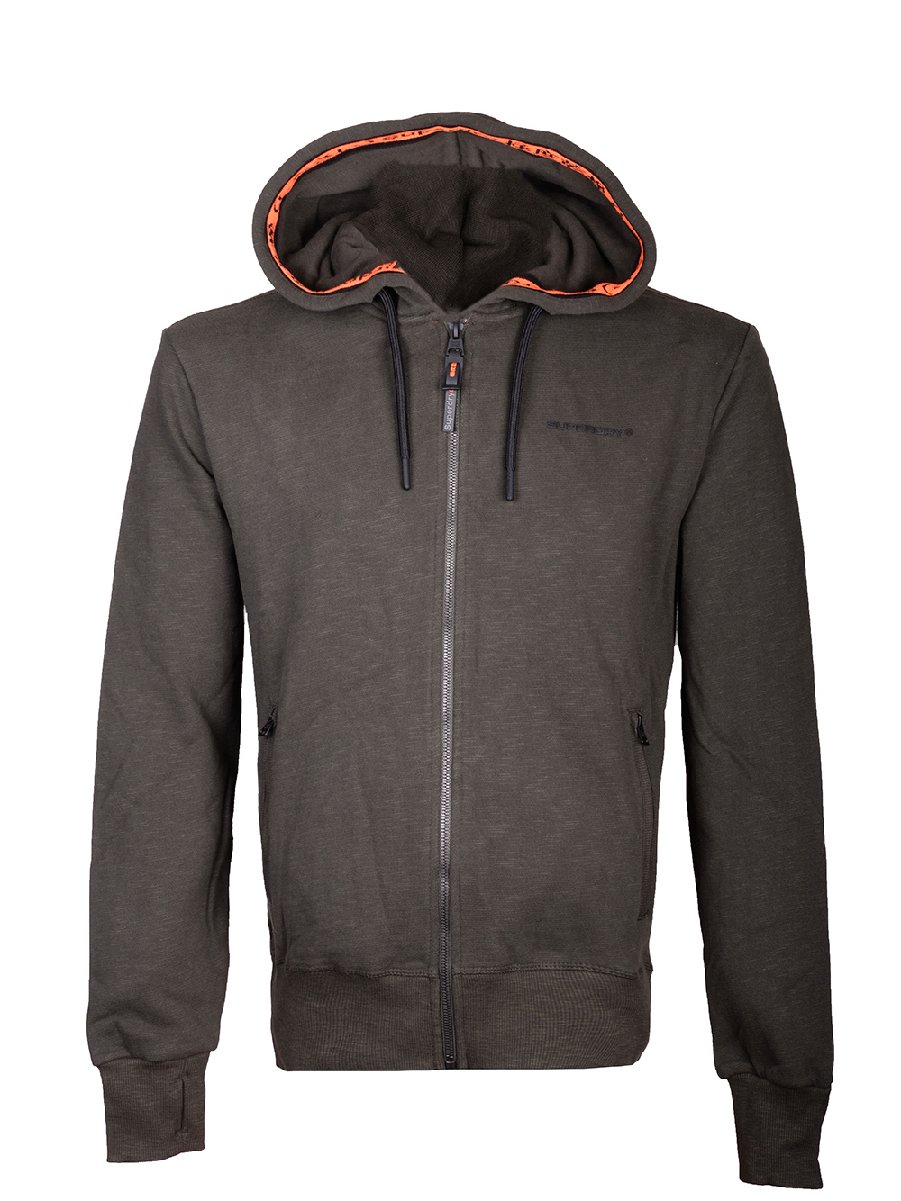 SUPERDRY Ζακέτα με κουκούλα M2000062A-Z6V ΛΑΔΙ