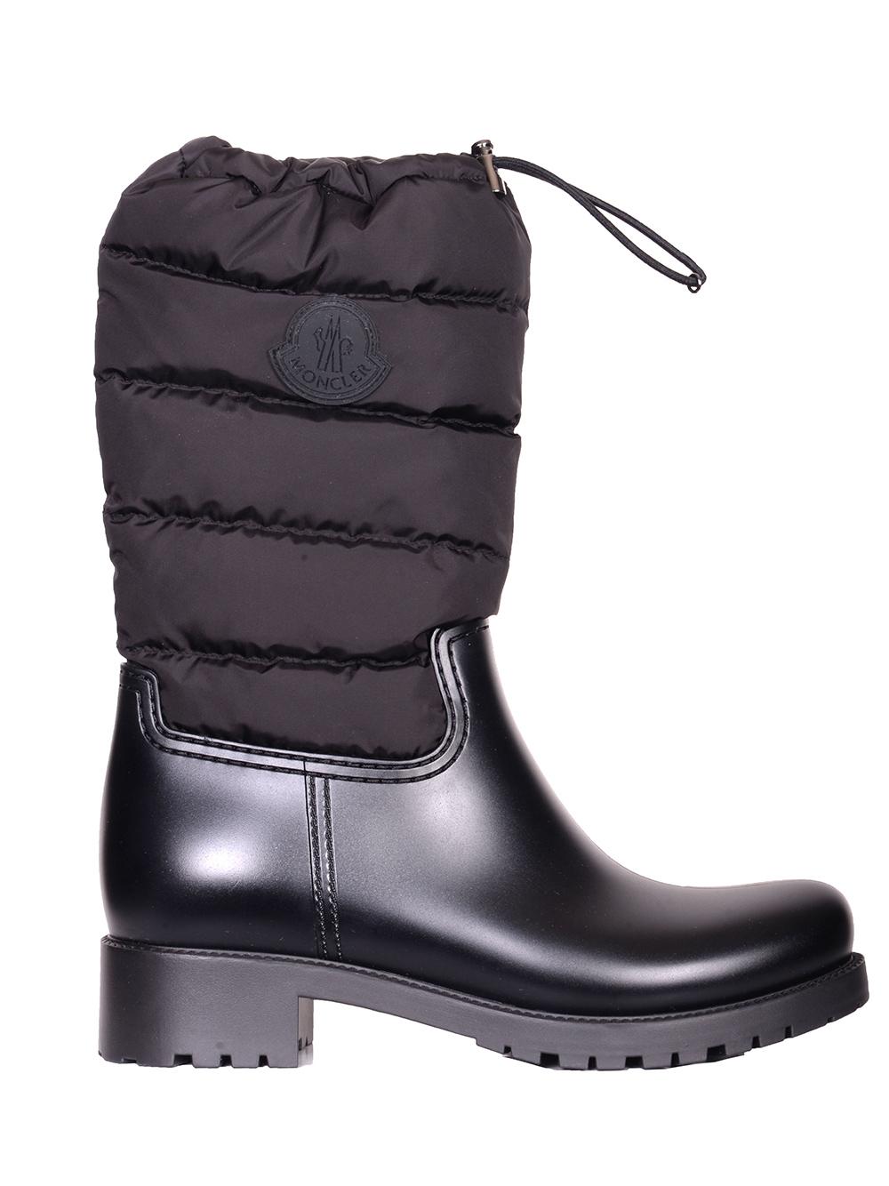 MONCLER Παπούτσια μποτάκι Ε2-09Α-202430-999 ΜΑΥΡΟ